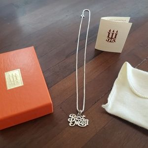 .925 James Avery charm and chain.